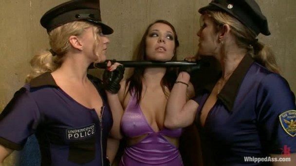 Dirty lesbian police women porno