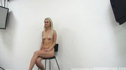 flashy blonde teen with