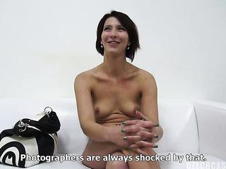horny black haired slut