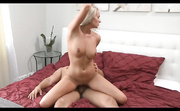 sweet blonde milf with
