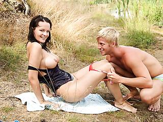 horny dude enjoys licking