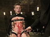 Young priest gets pubished badly and assfucked by his mentor for masturbation