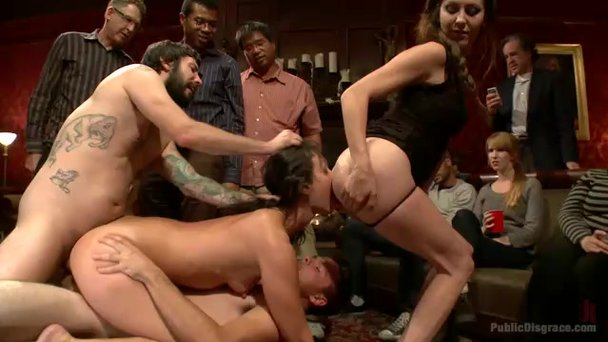 Bar sluts gang bang videos