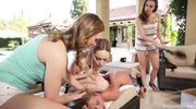blonde babe getting humiliated