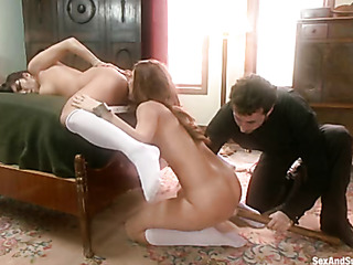 horny padre punishing and