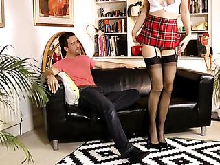 naughty red mom stockings