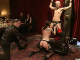 Submitted girls and dudes getting jeered and pounded hard at the party