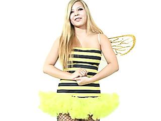 enchanting blonde cute yellow