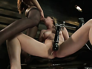 asian plays with her
