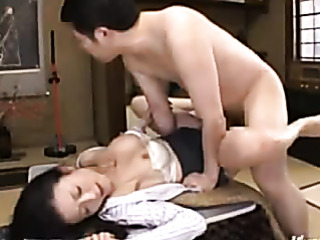 mature office lady gets