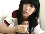 Nasty ponytailed Japanese teen bitch in red lingerie gets her cunt screwed in doggy style