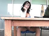 Mindy Lynn hard breast massage