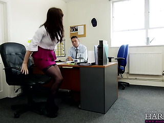 Office table sex video #13