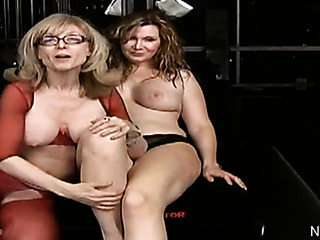 sexy milf glasses and