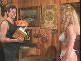 Blonde and brunette sluts from vintage porn movie taking facials after sloppy hardcore fuck