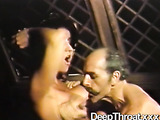 Horny pirates adore busty vintage vixens with bushy twats and hardcore fucking
