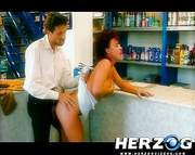 vintage mature redhead with