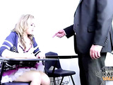 The most unforgettable lesson for sexy college girl
