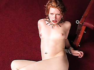 redhead's vagina never received