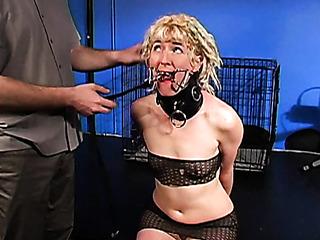 blonde amateur gets crazy