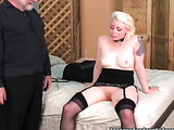 Females like to have fun together with old fan of fetish