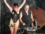 Amateur victim satisfies dominator's sexual hunger
