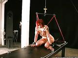 Slave frame helps torturer to make come true his dreams