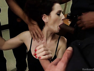 brunette whore gets nailed