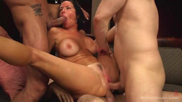 Milf whore assfucked