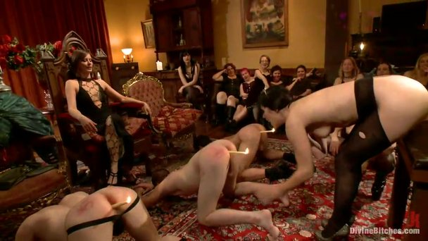 Wonderful Masquerade Ball With Elements Of Female Domination Porn Video At Xxx Dessert Tube