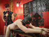 Queen makes her slave suffer in sexual way like never before