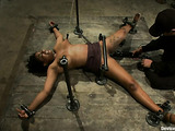 Ebony lady isn't afraid of amazing sexual experiments