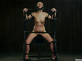 The first BDSM experience of a skinny blonde chick