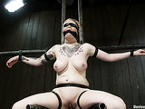 Unrepeatable BDSM experiments by two pale-skinned tootsies