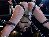 Attractive lady isn't ashamed to take a part in BDSM scene