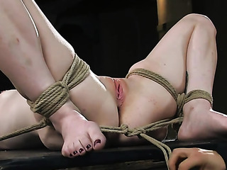 blonde sweetie bondage wants