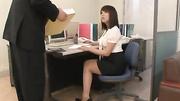 slutty office lady sucks