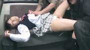 shy japanese schoolgirl teen