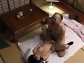 japanese school girl gets