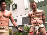 Amazing public disgrace scene by the shameless gays