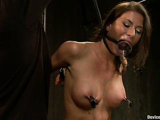 brunette vixen gets orgasm