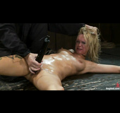 Blonde whore gets used by her kinky mistress in this hot scene