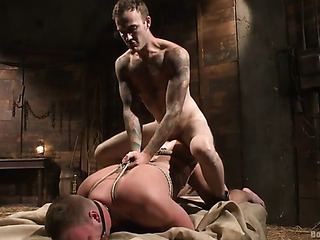 bound gay god gets