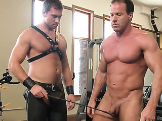 these muscled gay hunks