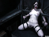 18 year old babe in bondage gets humiliated and toyed
