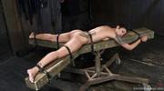 slender ebony goddess bondage