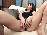 Kinky Asian office girl invites colleagues to her office