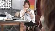 naughty japanese office lady