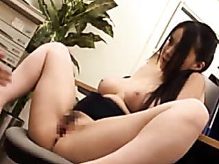adorable japanese office girl