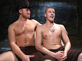 Young gay dude gets used by a well endowed officer